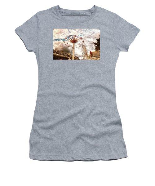 Tuilerie Garden Paris Swings Women's T-Shirt