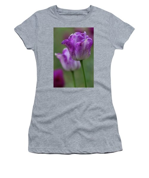 Women's T-Shirt featuring the photograph Tulip Time 24 by Heather Kenward