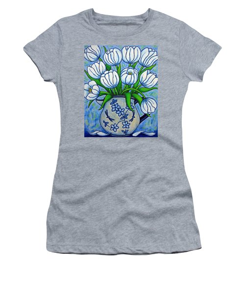 Tulip Tranquility Women's T-Shirt (Athletic Fit)