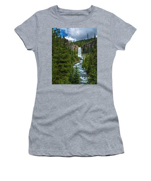 Tumalo Falls Women's T-Shirt