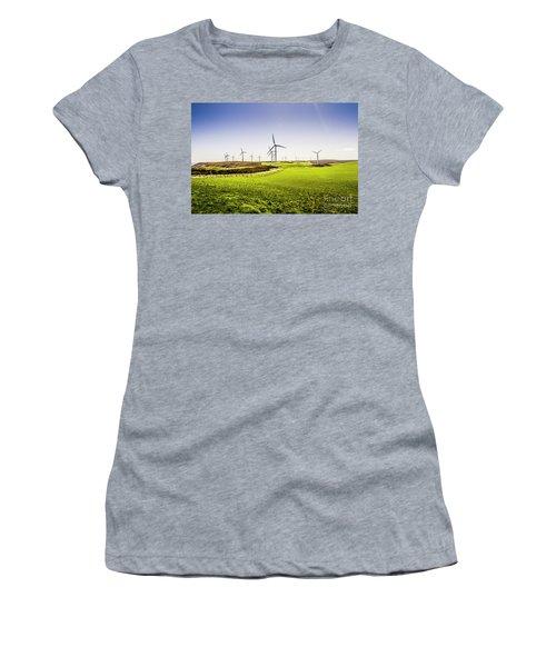 Turbine Fields Women's T-Shirt