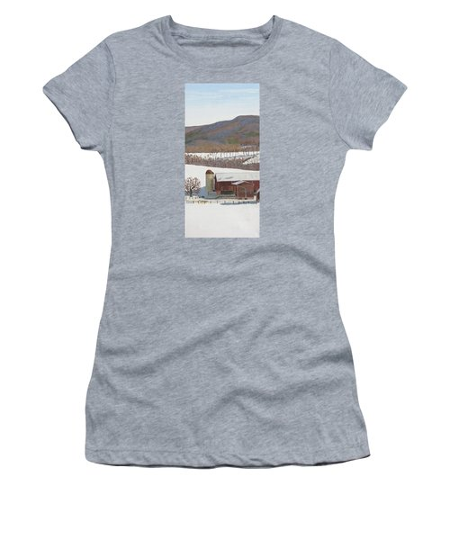 Tussey Mountain View Women's T-Shirt (Athletic Fit)