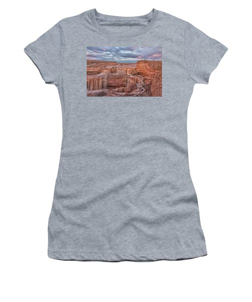 Twilight At Chocolate Falls Women's T-Shirt (Athletic Fit)