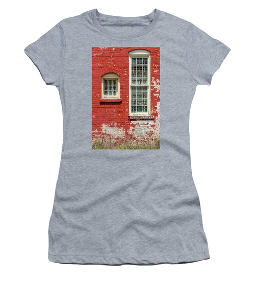 Women's T-Shirt (Junior Cut) featuring the photograph Twins by Christopher Holmes