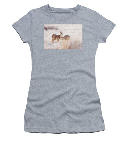 Two Deers Women's T-Shirt (Athletic Fit)