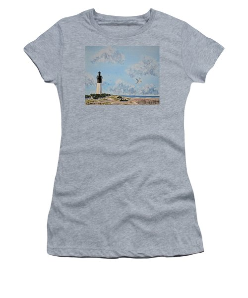Tybee Light Savannah Women's T-Shirt (Athletic Fit)