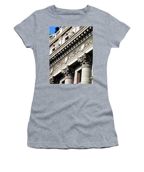 U S Custom House 2 Women's T-Shirt (Junior Cut) by Randall Weidner