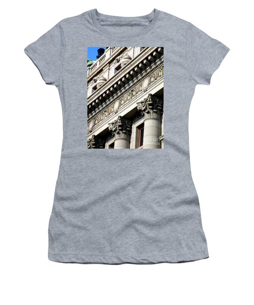 U S Custom House 2 Women's T-Shirt (Athletic Fit)