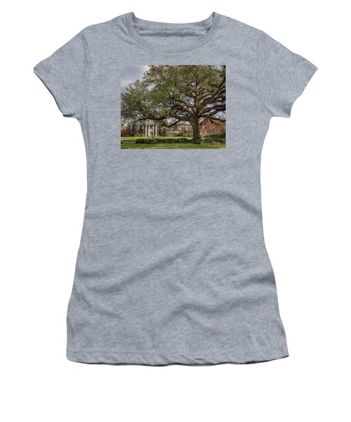 Women's T-Shirt (Junior Cut) featuring the photograph Ul President Home 01 by Gregory Daley  PPSA