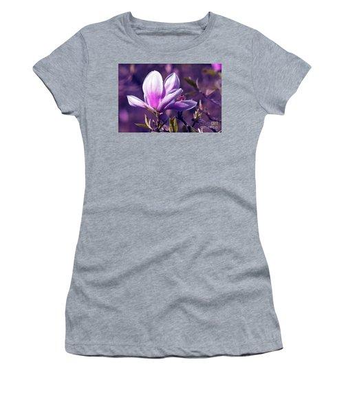 Ultra Violet Magnolia  Women's T-Shirt