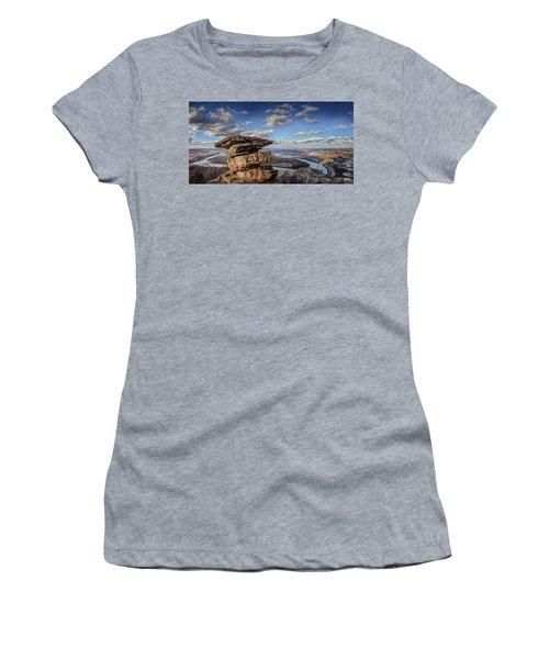 Umbrella Rock Overlooking Moccasin Bend Women's T-Shirt