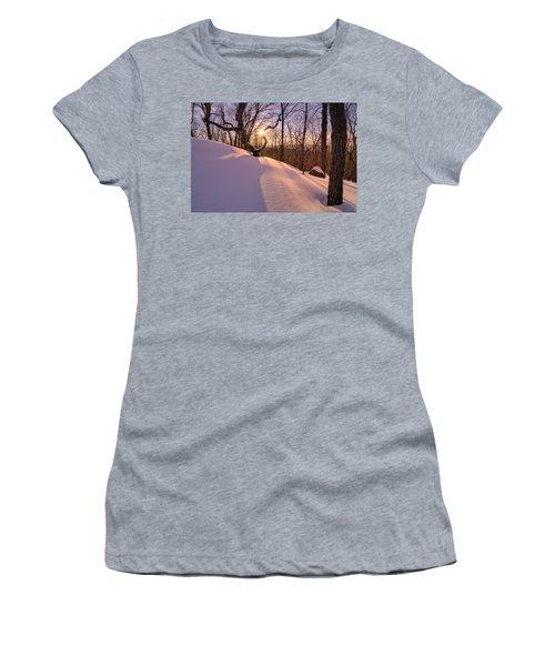 Unbroken Trail Women's T-Shirt (Junior Cut) by Craig Szymanski