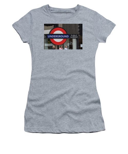 Underground Sign London Women's T-Shirt
