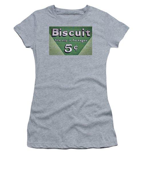 Uneeda Biscuit Vintage Sign #2 Women's T-Shirt