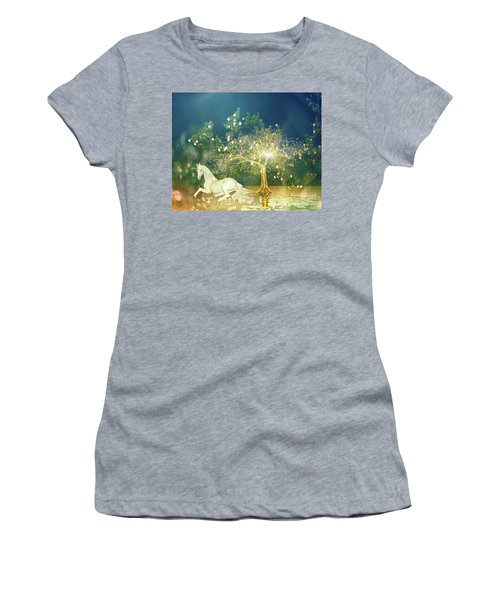 Unicorn Resting Series 2 Women's T-Shirt (Athletic Fit)