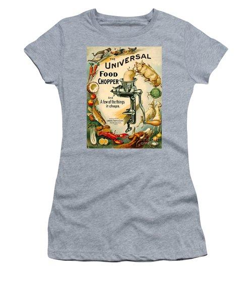 Universal Food Chopper 1897 Women's T-Shirt (Junior Cut) by Padre Art