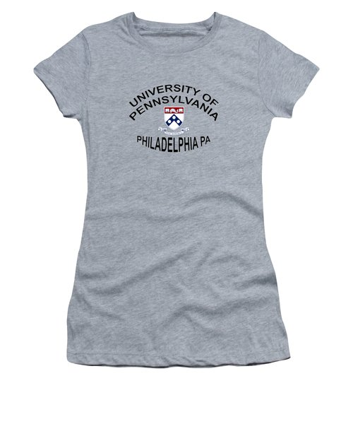 University Of Pennsylvania Philadelphia P A Women's T-Shirt (Athletic Fit)