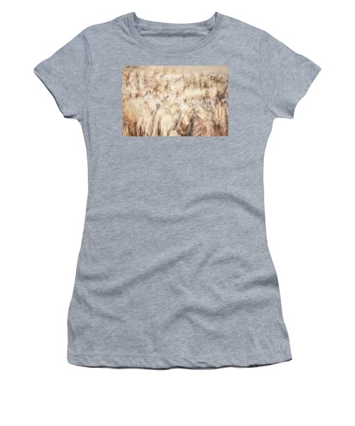 Untitled #3939, From The Soul Searching Series Women's T-Shirt (Athletic Fit)