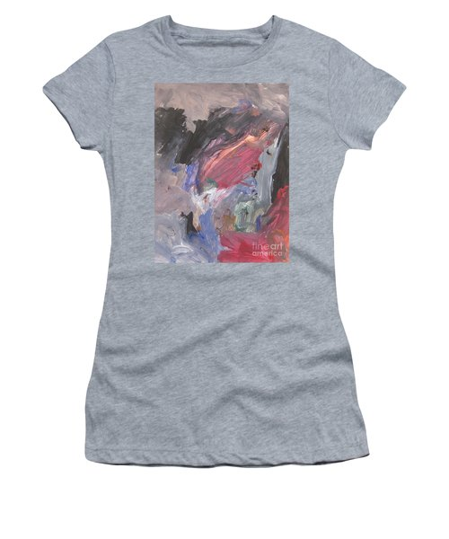 Untitled #6  Original Painting Women's T-Shirt (Athletic Fit)