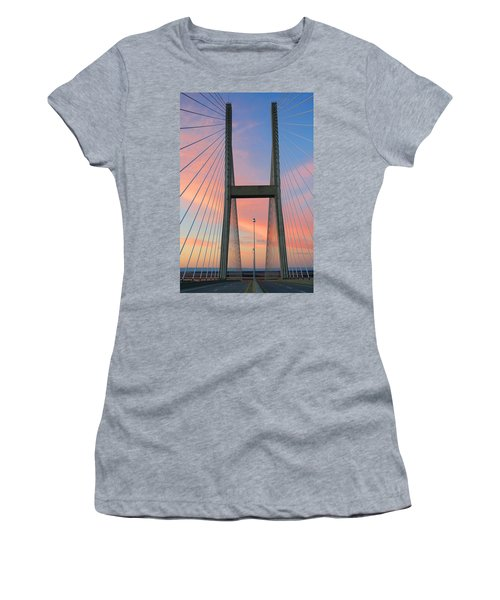 Up On The Bridge Women's T-Shirt (Athletic Fit)