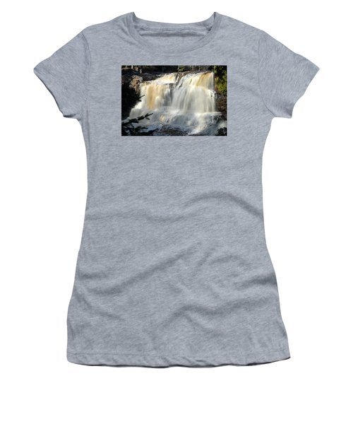 Upper Falls Gooseberry River Women's T-Shirt