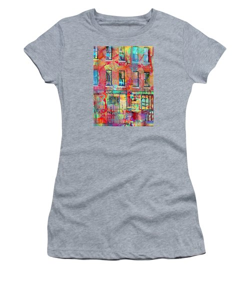 Urban Wall Women's T-Shirt (Junior Cut) by Susan Stone