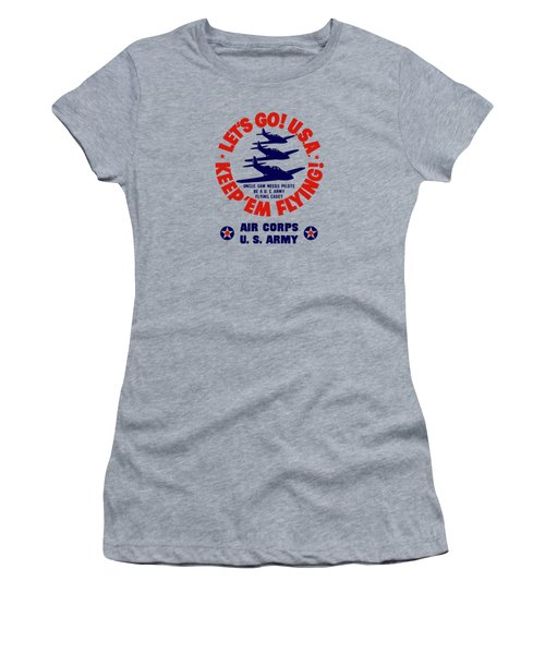 Us Army Air Corps - Ww2 Women's T-Shirt