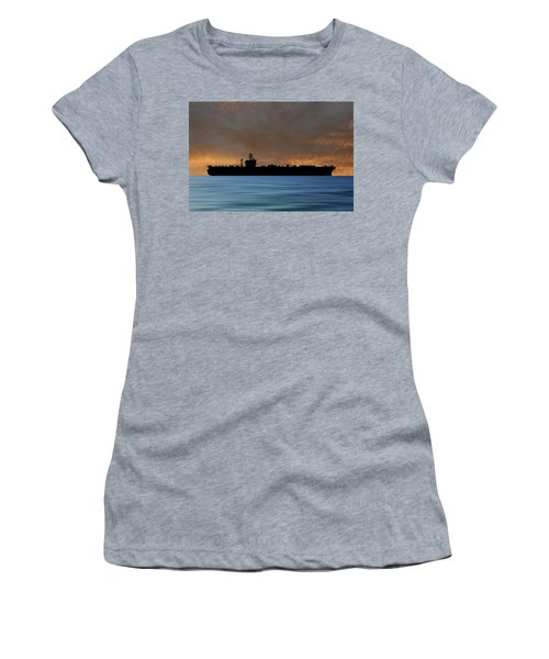 Uss Abraham Lincoln 1988 V3 Women's T-Shirt
