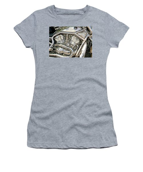 V-rod Titanium Women's T-Shirt (Athletic Fit)