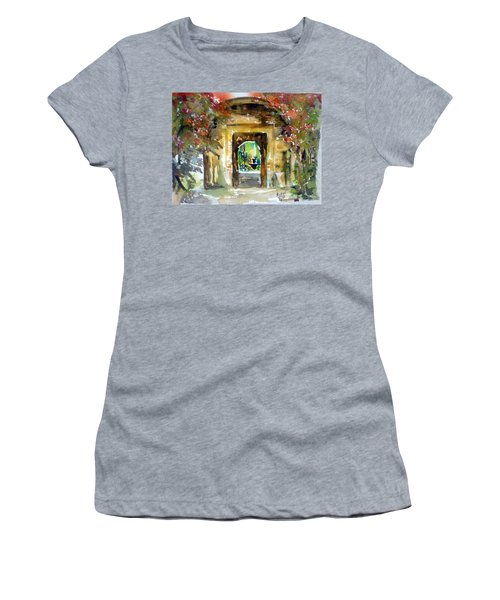 Venetian Gardens Women's T-Shirt (Athletic Fit)