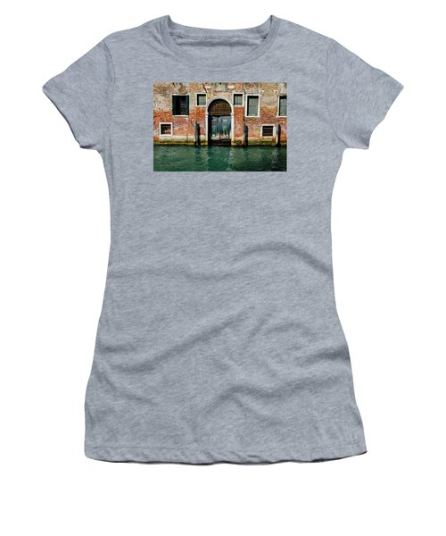 Venetian House On Canal Women's T-Shirt