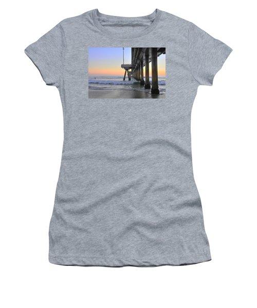 Venice Beach Pier Sunset Women's T-Shirt
