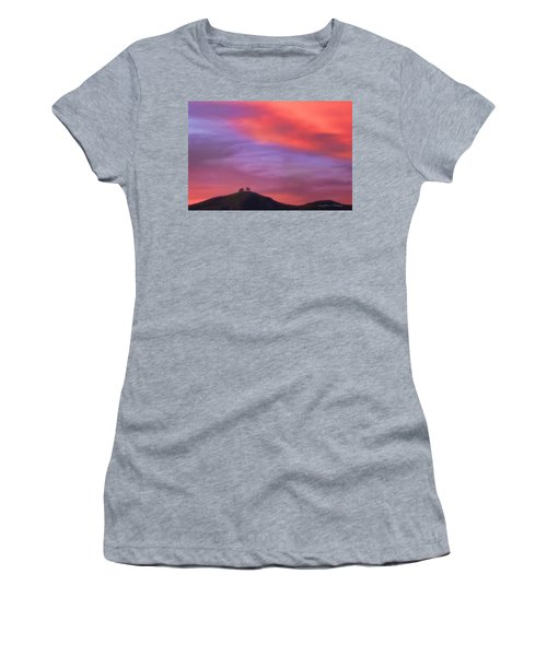 Ventura Ca Two Trees At Sunset Women's T-Shirt (Athletic Fit)