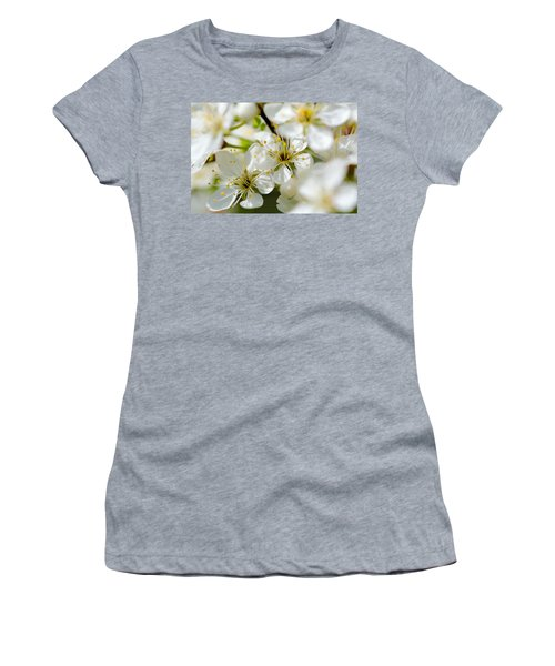 Vermont Apple Blossoms Women's T-Shirt (Athletic Fit)