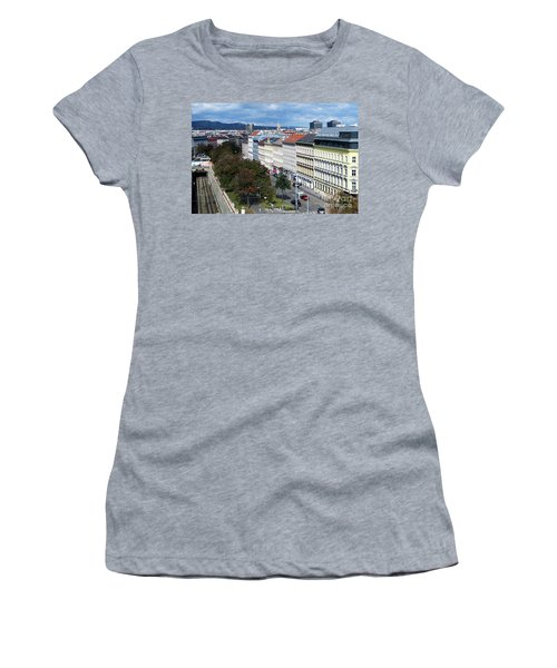 Vienna Beltway Women's T-Shirt (Junior Cut) by Christian Slanec