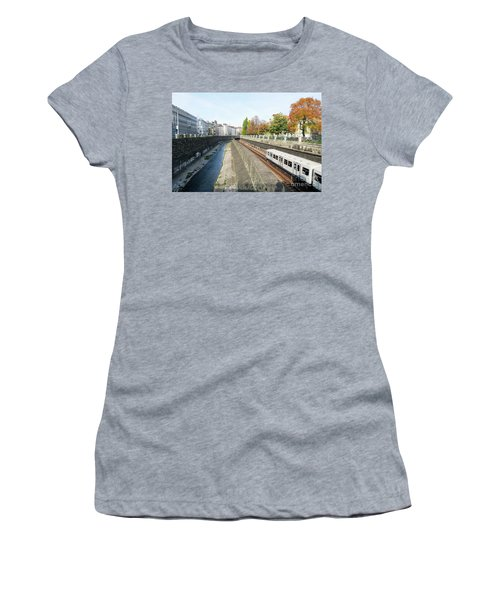 Vienna Canal Women's T-Shirt (Athletic Fit)
