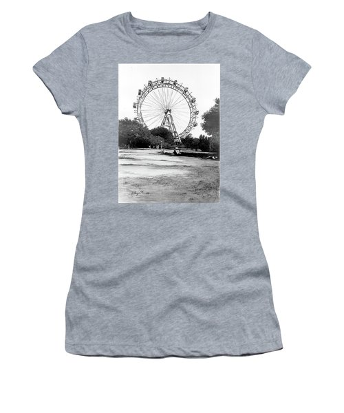Viennese Giant Wheel Women's T-Shirt (Athletic Fit)