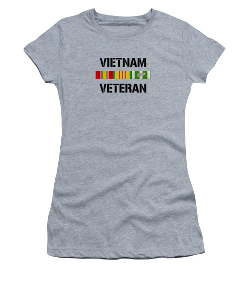 Vietnam Veteran Ribbon Bar - Two Women's T-Shirt