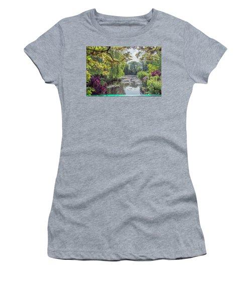 View From Monet's Bridge Women's T-Shirt
