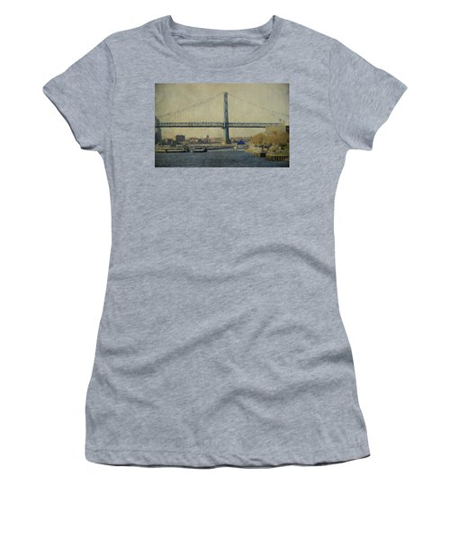 View From The Battleship Women's T-Shirt