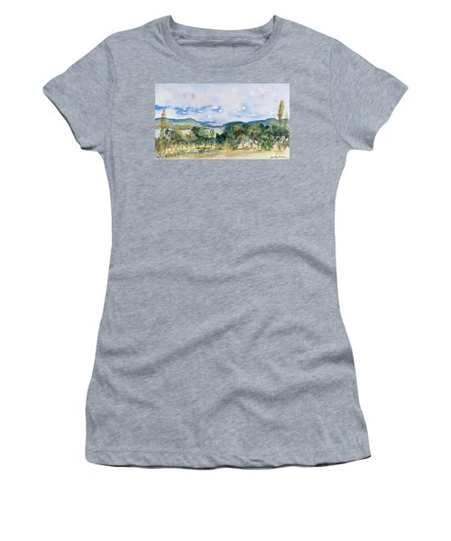 View Of D'entrecasteaux Channel From Birchs Bay, Tasmania Women's T-Shirt