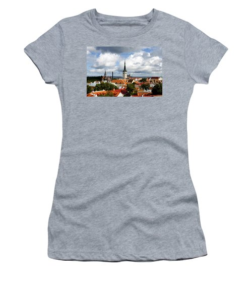 View Of St Olav's Church Women's T-Shirt