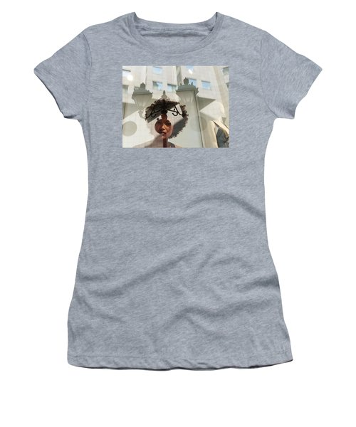 Women's T-Shirt (Athletic Fit) featuring the photograph Viewpoint by Alex Lapidus