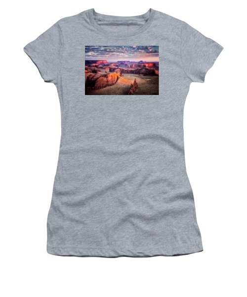 Views From The Edge  Women's T-Shirt (Athletic Fit)
