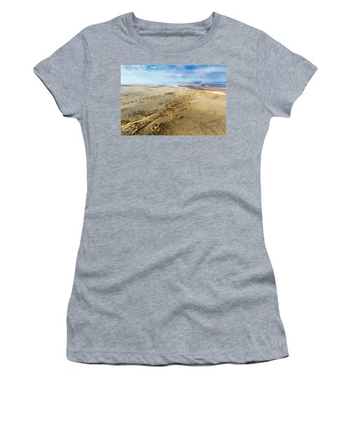 Village Toward Amu Darya River Women's T-Shirt