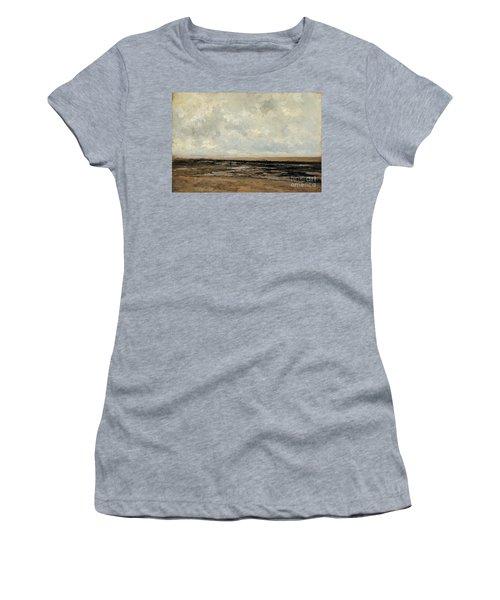 Villerville Beach In Normandy Women's T-Shirt
