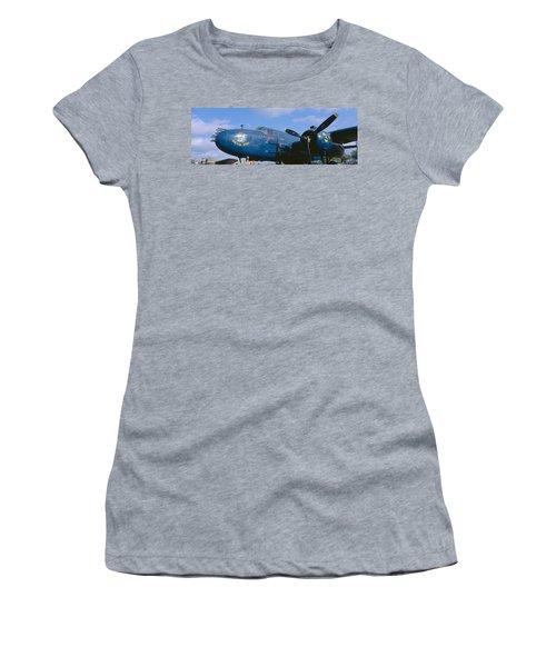 Vintage Fighter Aircraft, Burnet, Texas Women's T-Shirt