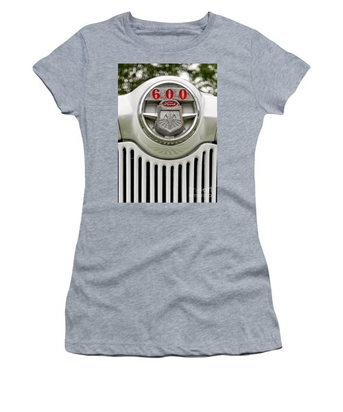 Vintage Ford 600 Nameplate Emblem Women's T-Shirt