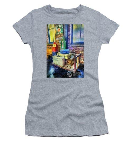 Vintage Luggage Women's T-Shirt