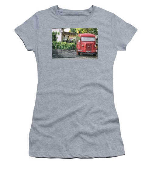 Vintage Red Women's T-Shirt